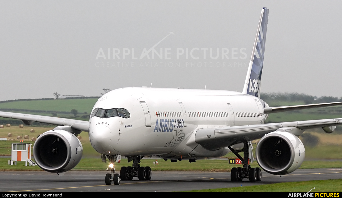 Airbus Industrie F-WXWB aircraft at Prestwick