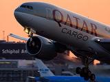 A7-BFD - Qatar Airways Cargo Boeing 777F aircraft