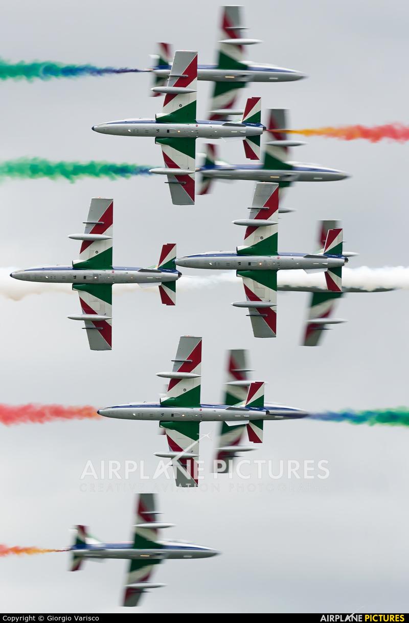 "Italy - Air Force ""Frecce Tricolori"" MM55052 aircraft at Rivolto"