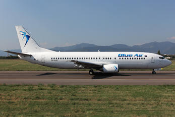 YR-BAT - Blue Air Boeing 737-400