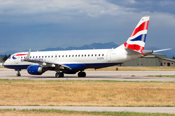 G-LCYO - British Airways - City Flyer Embraer ERJ-190 (190-100)