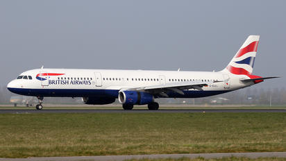 G-EUXJ - British Airways Airbus A321