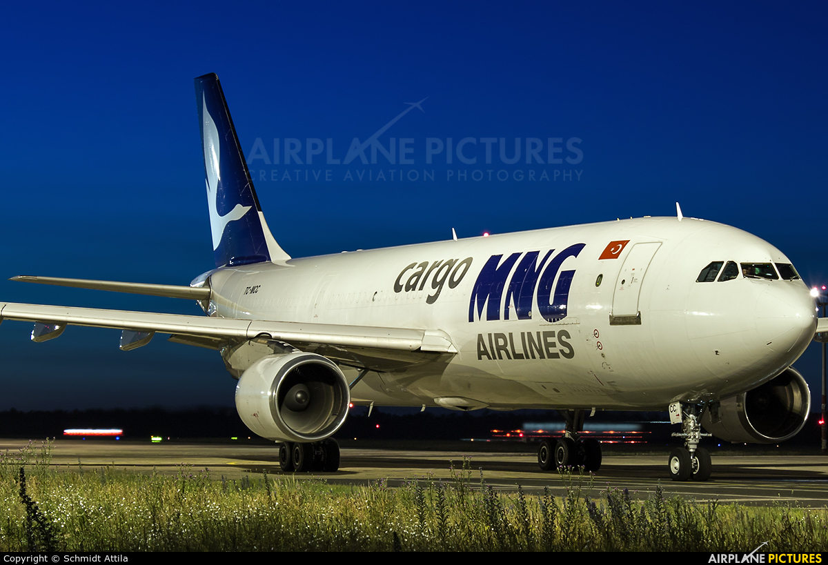 MNG Airlines TC-MCC aircraft at Budapest Ferenc Liszt International Airport