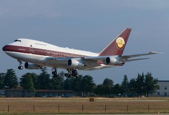 VP-BAT - Qatar Amiri Flight Boeing 747SP