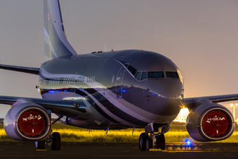 VP-CZW - Tempos Manx Aviation Boeing 737-700 BBJ