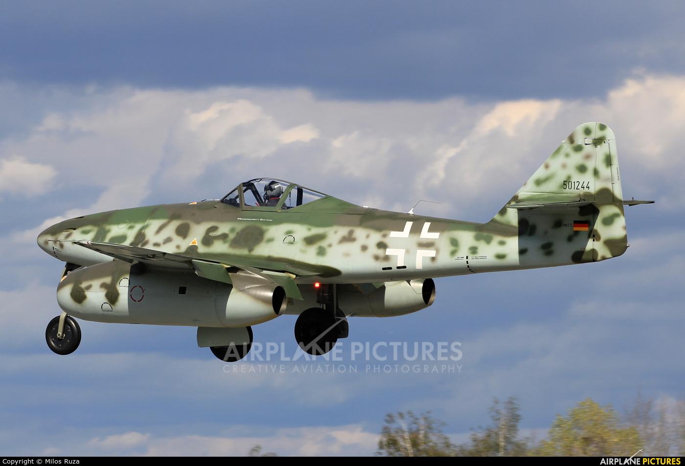 Messerschmitt Stiftung D-IMTT aircraft at Hradec Králové