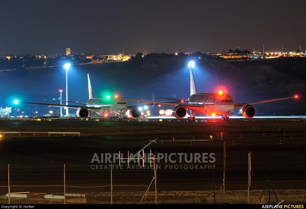 Qatar Airways A7-BCP aircraft at Madrid - Barajas