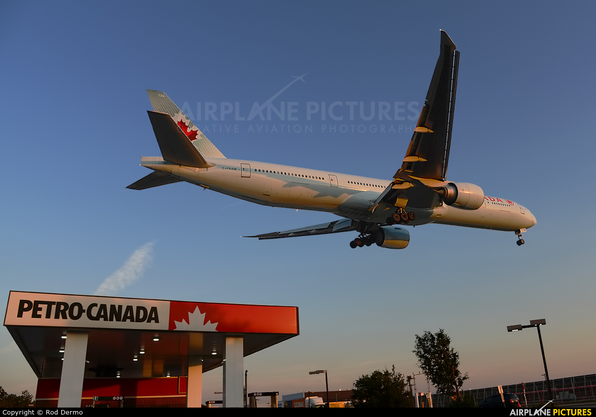 Air Canada C-FRAM aircraft at Toronto - Pearson Intl, ON