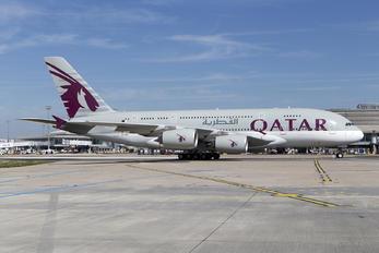 A7-APA - Qatar Airways Airbus A380