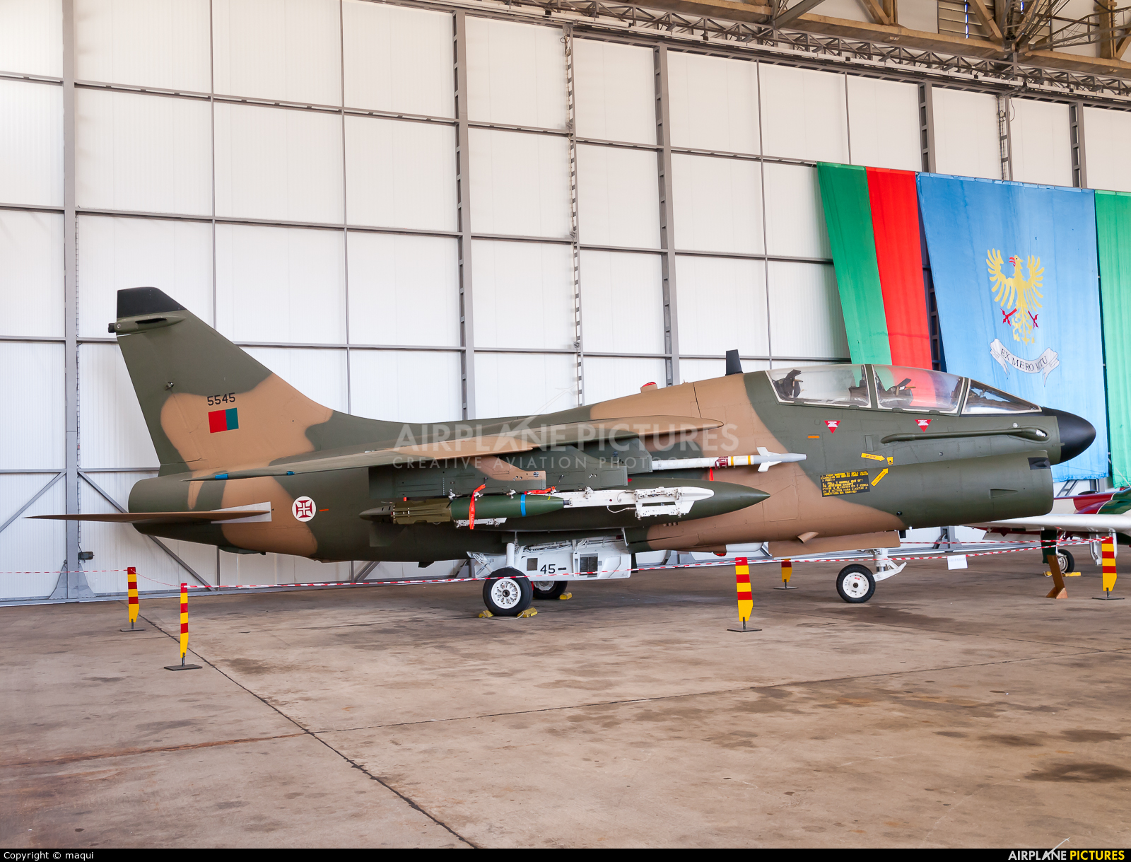 Portugal - Air Force 5545 aircraft at Ovar