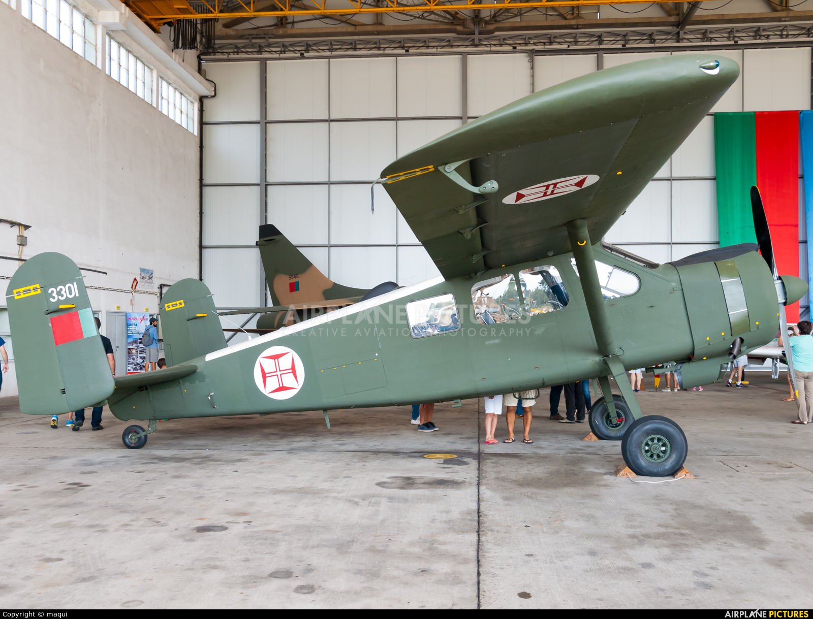 Portugal - Air Force 3301 aircraft at Ovar