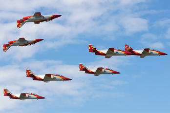 E.25-22 - Spain - Air Force : Patrulla Aguila Casa C-101EB Aviojet