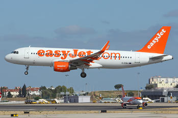 G-EZWJ - easyJet Airbus A320