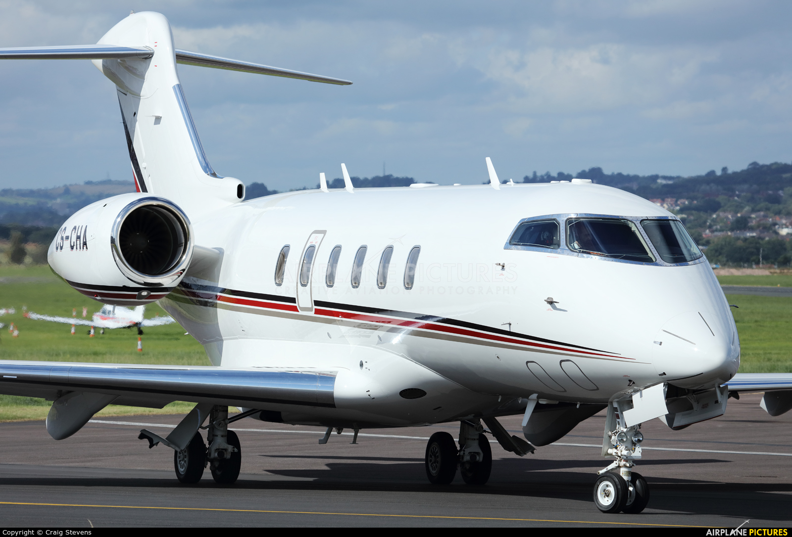 NetJets Europe (Portugal) CS-CHA aircraft at Exeter