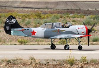 "EC-IAR - Asociación Deportiva ""Jacob 52"" Yakovlev Yak-52"