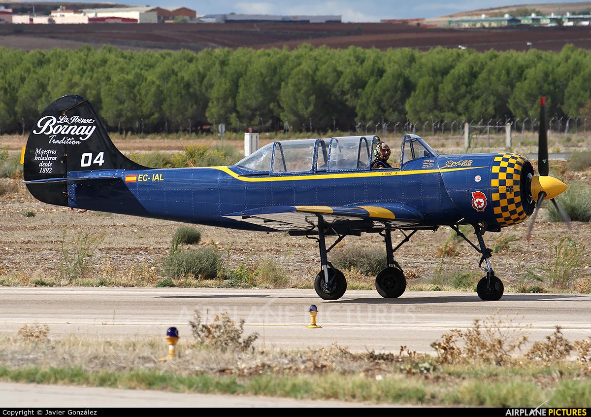 Private EC-IAL aircraft at Madrid - Torrejon