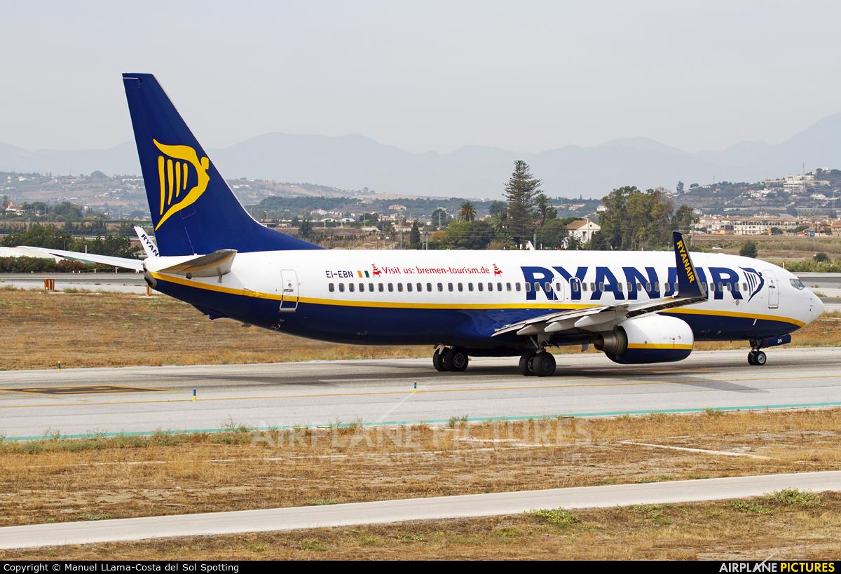 Ryanair EI-EBN aircraft at Málaga