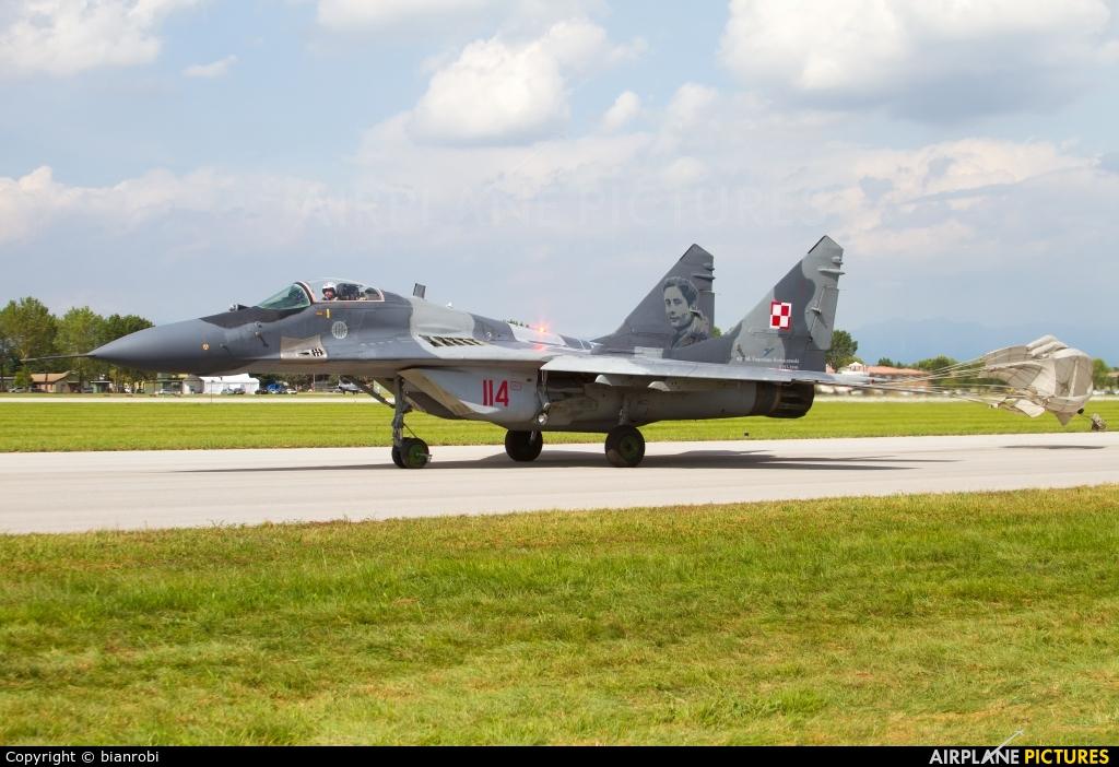 Poland - Air Force 114 aircraft at Rivolto