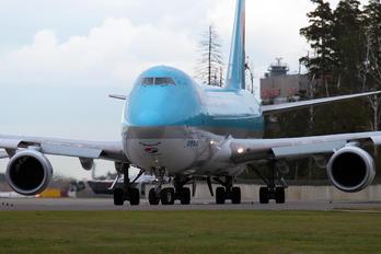 HL7609 - Korean Air Cargo Boeing 747-8F