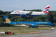 G-EUPR - British Airways Airbus A319 aircraft