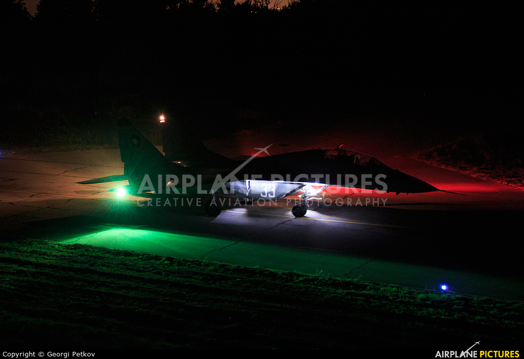 Bulgaria - Air Force 33 aircraft at Graf Ignatievo