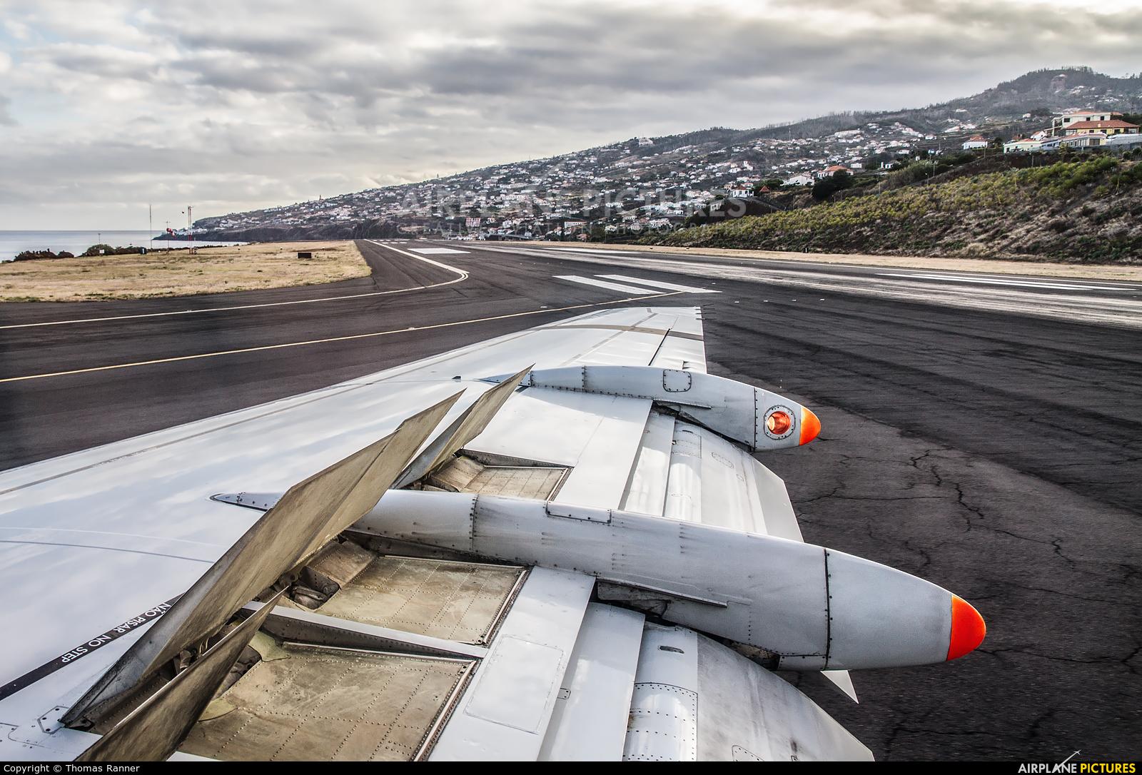 PGA Portugalia CS-TPD aircraft at Madeira