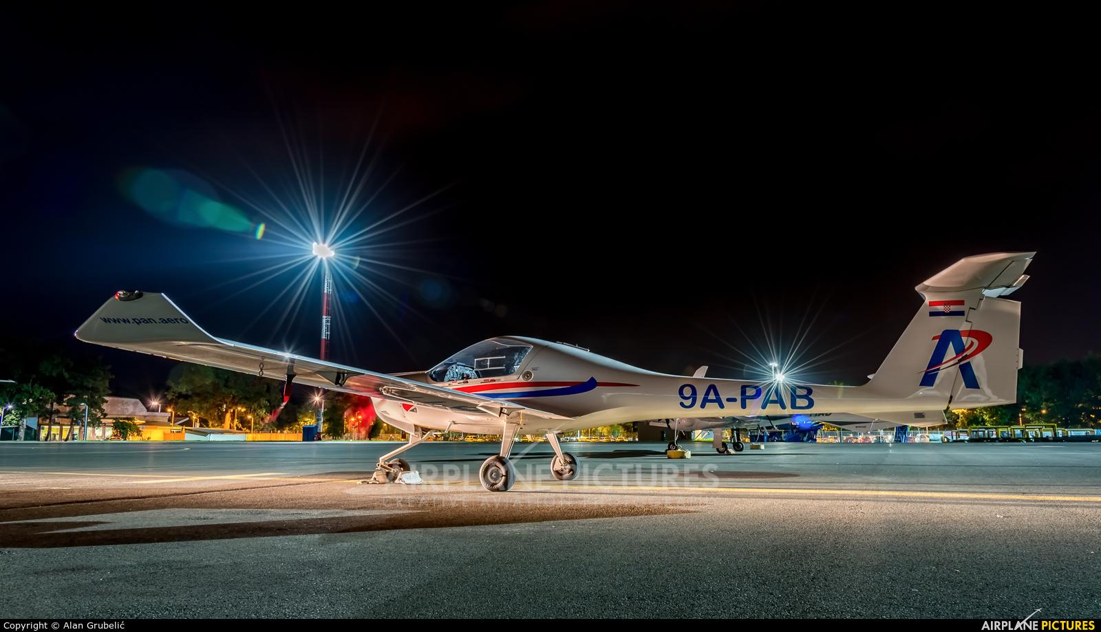 Private 9A-PAB aircraft at Zagreb