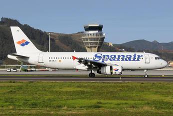 EC-IAZ - Spanair Airbus A320