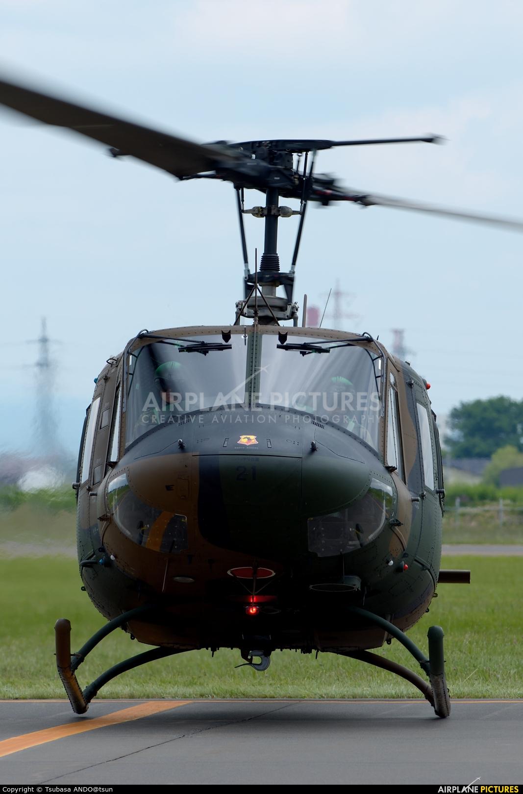 Japan - Ground Self Defense Force 41921 aircraft at Sapporo - Okadama