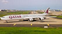 A7-AGA - Qatar Airways Airbus A340-600 aircraft