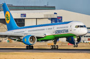 UK75701 - Uzbekistan Airways Boeing 757-200 aircraft