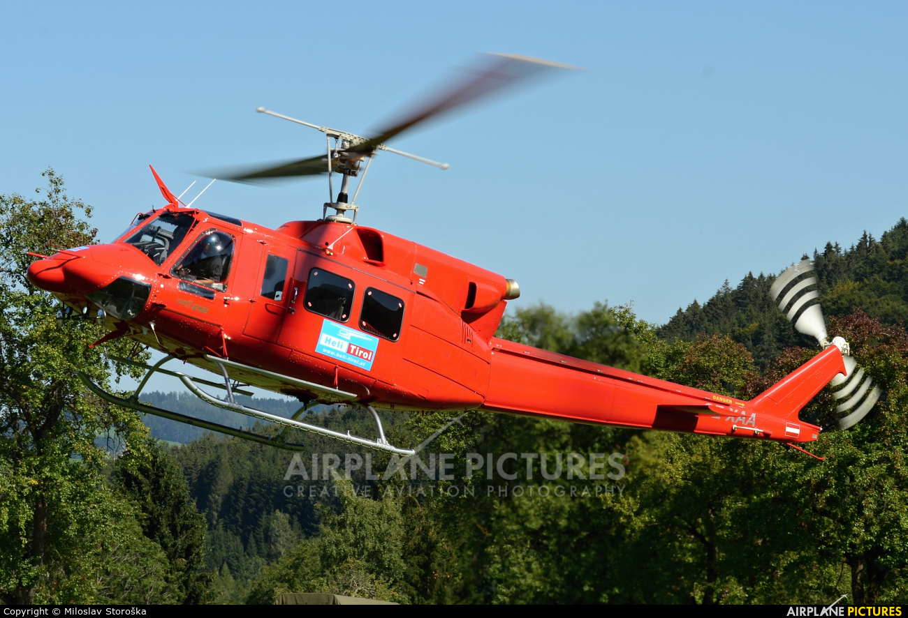 Heli Tirol OE-XAA aircraft at Off Airport - Austria