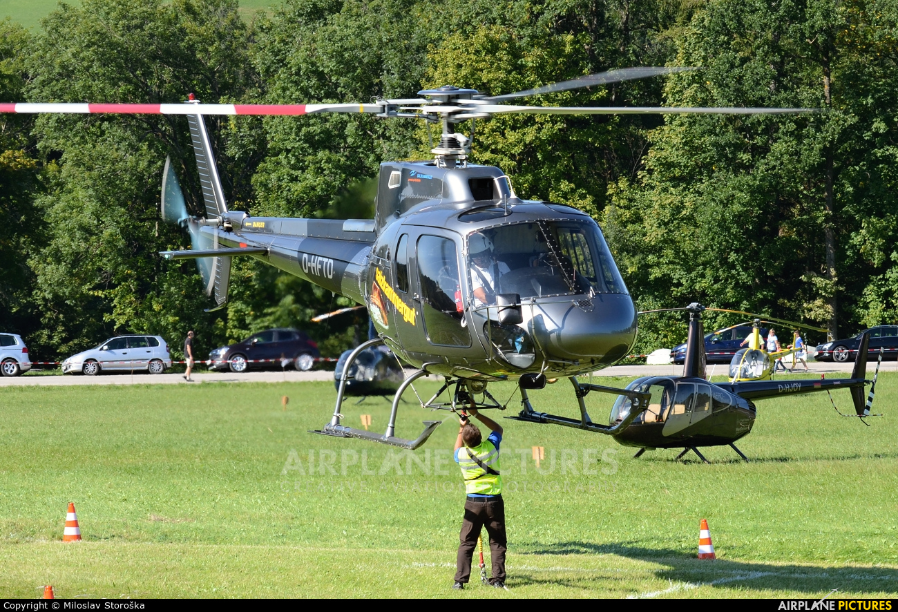 Private D-HFTD aircraft at Off Airport - Austria