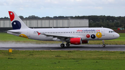 VQ-BBM - Viva Colombia Airbus A320