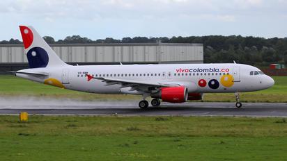 VQ-BBM - Viva Colombia Airbus A320