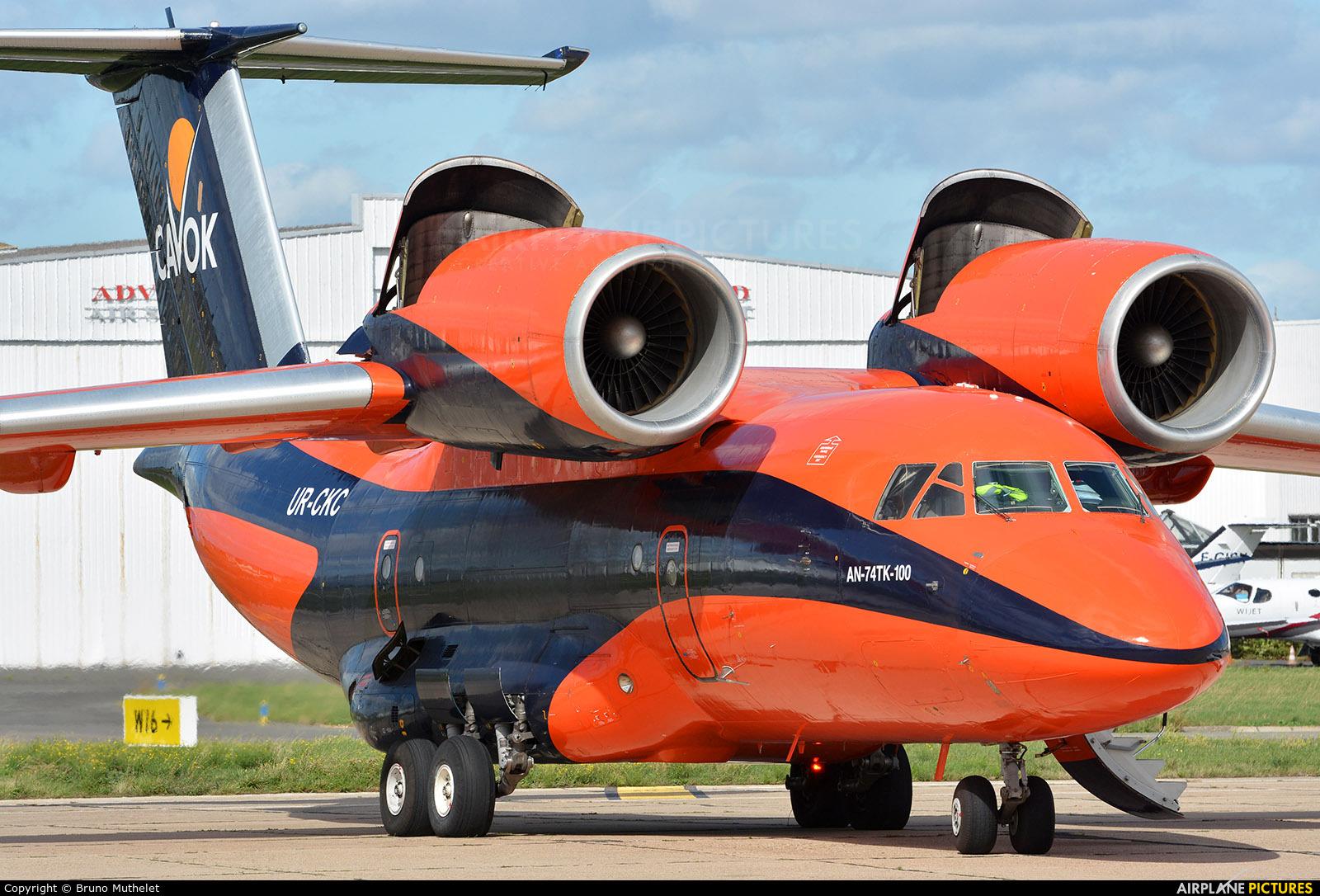 Cavok Air UR-CKC aircraft at Paris - Le Bourget