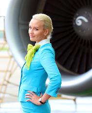 VQ-BET - S7 Airlines - Airport Overview - People
