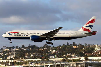 G-YMMC - British Airways Boeing 777-200