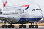 G-XLEI - British Airways Airbus A380 aircraft
