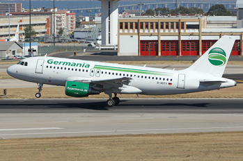 D-ASTY - Germania Airbus A319