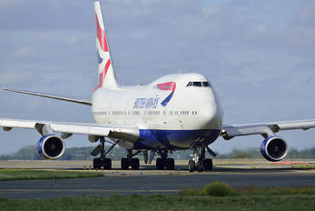 G-BYGE - British Airways Boeing 747-400