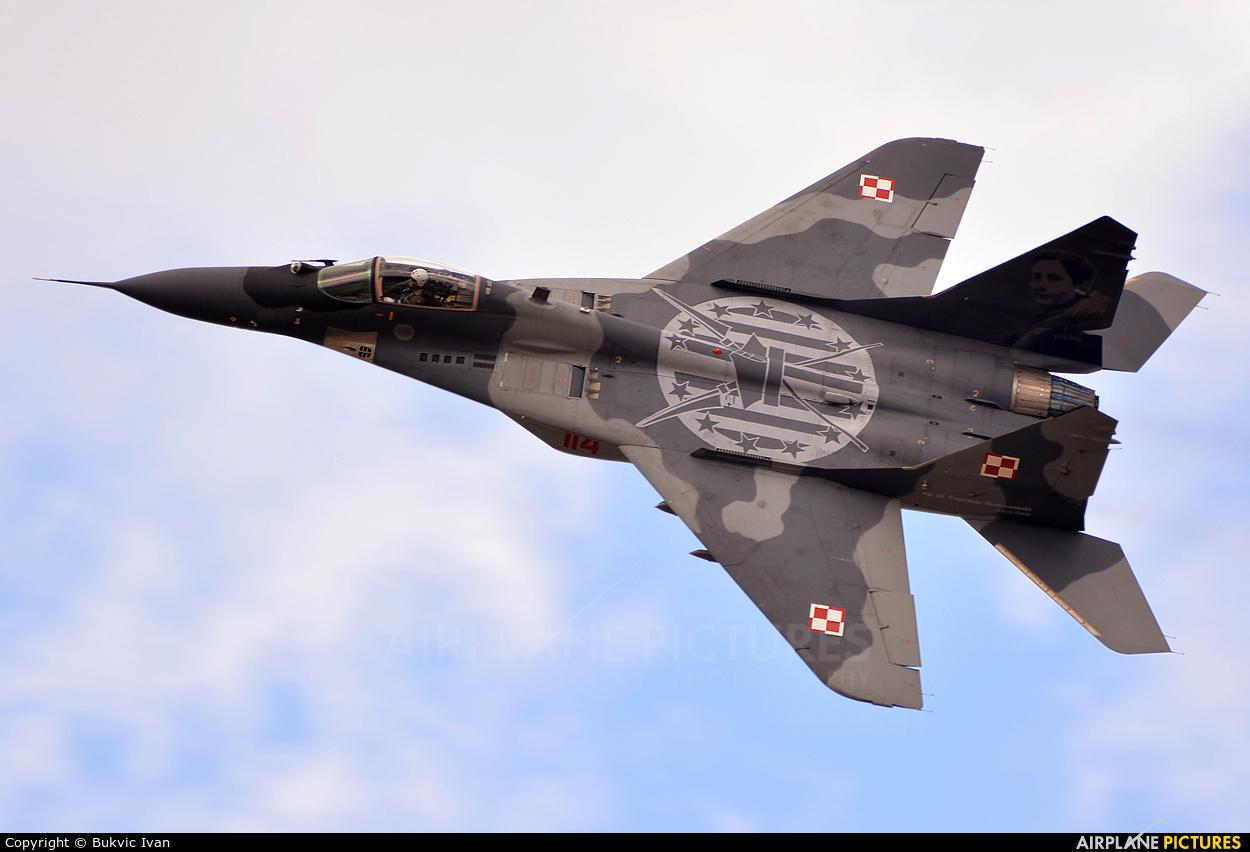 Poland - Air Force 114 aircraft at Tatoi