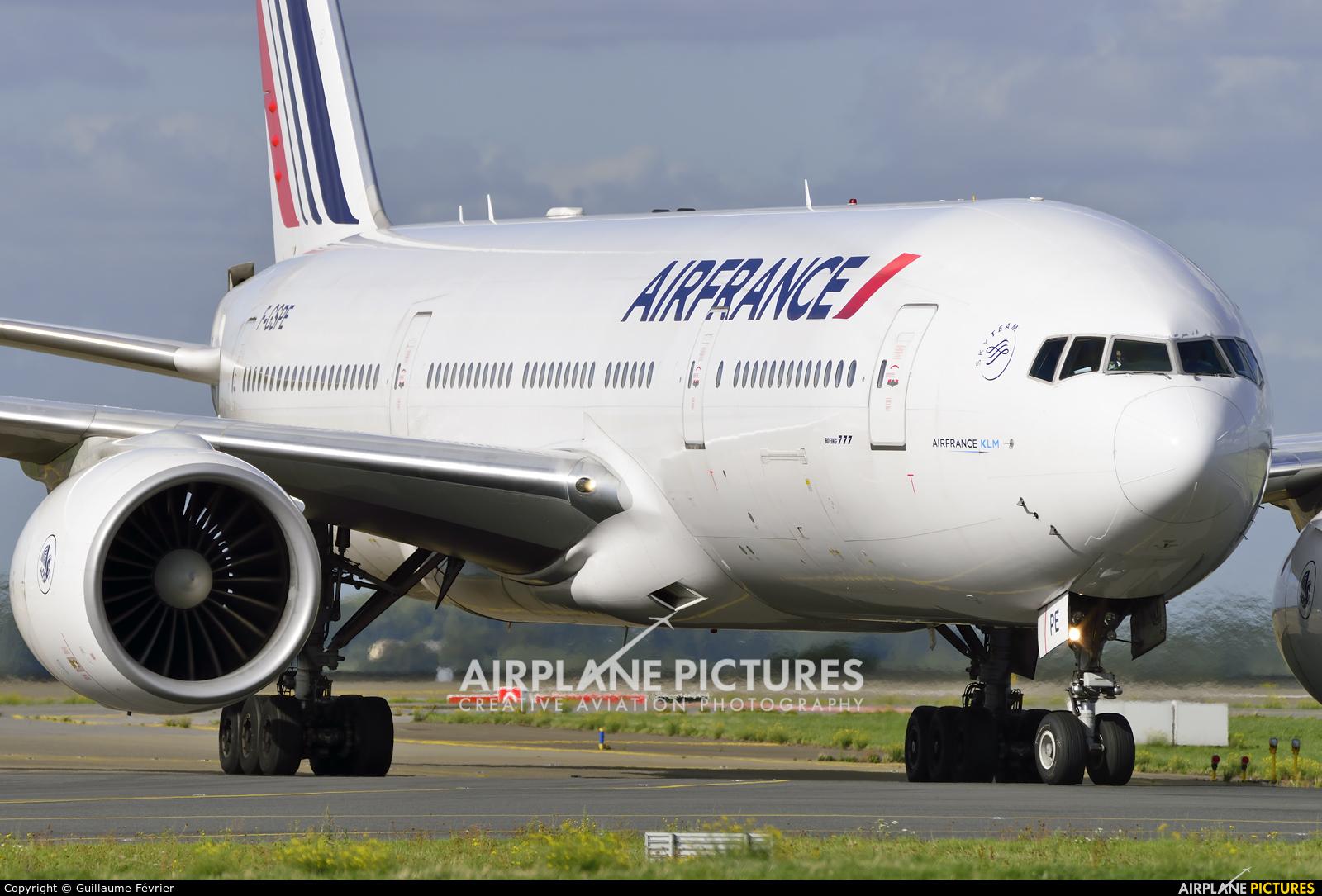 Air France F-GSPE aircraft at Paris - Charles de Gaulle