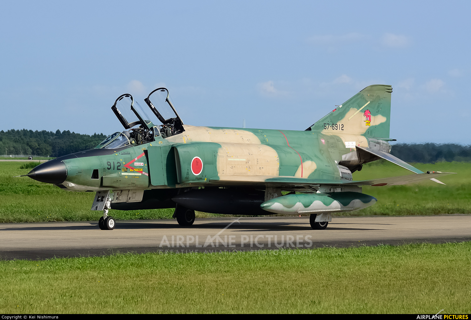 Japan - Air Self Defence Force 57-6912 aircraft at Ibaraki - Hyakuri AB