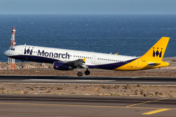 G-ZBAK - Monarch Airlines Airbus A321