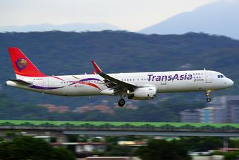 B-22608 - TransAsia Airways Airbus A321