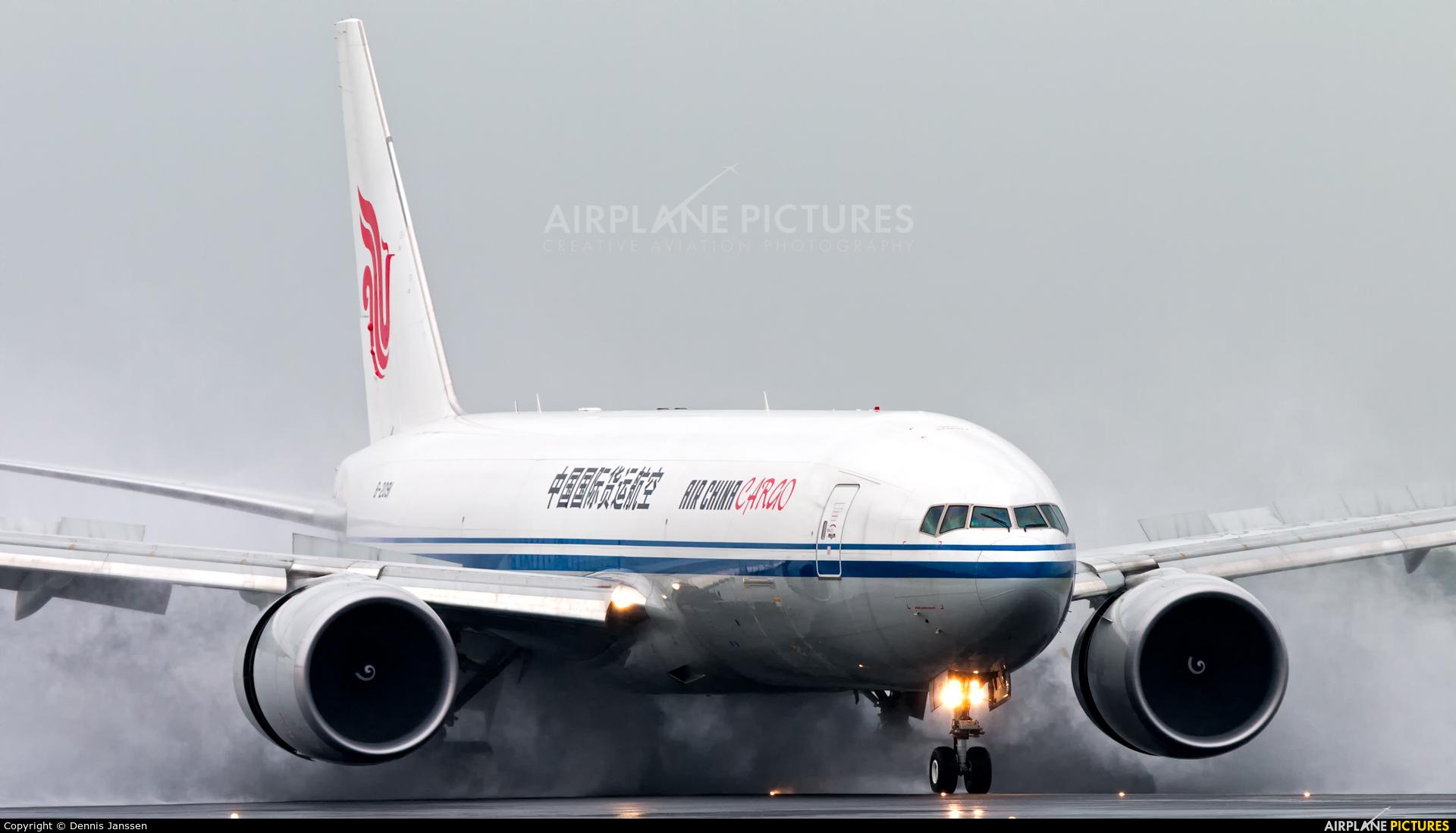 Air China Cargo B-2091 aircraft at Amsterdam - Schiphol