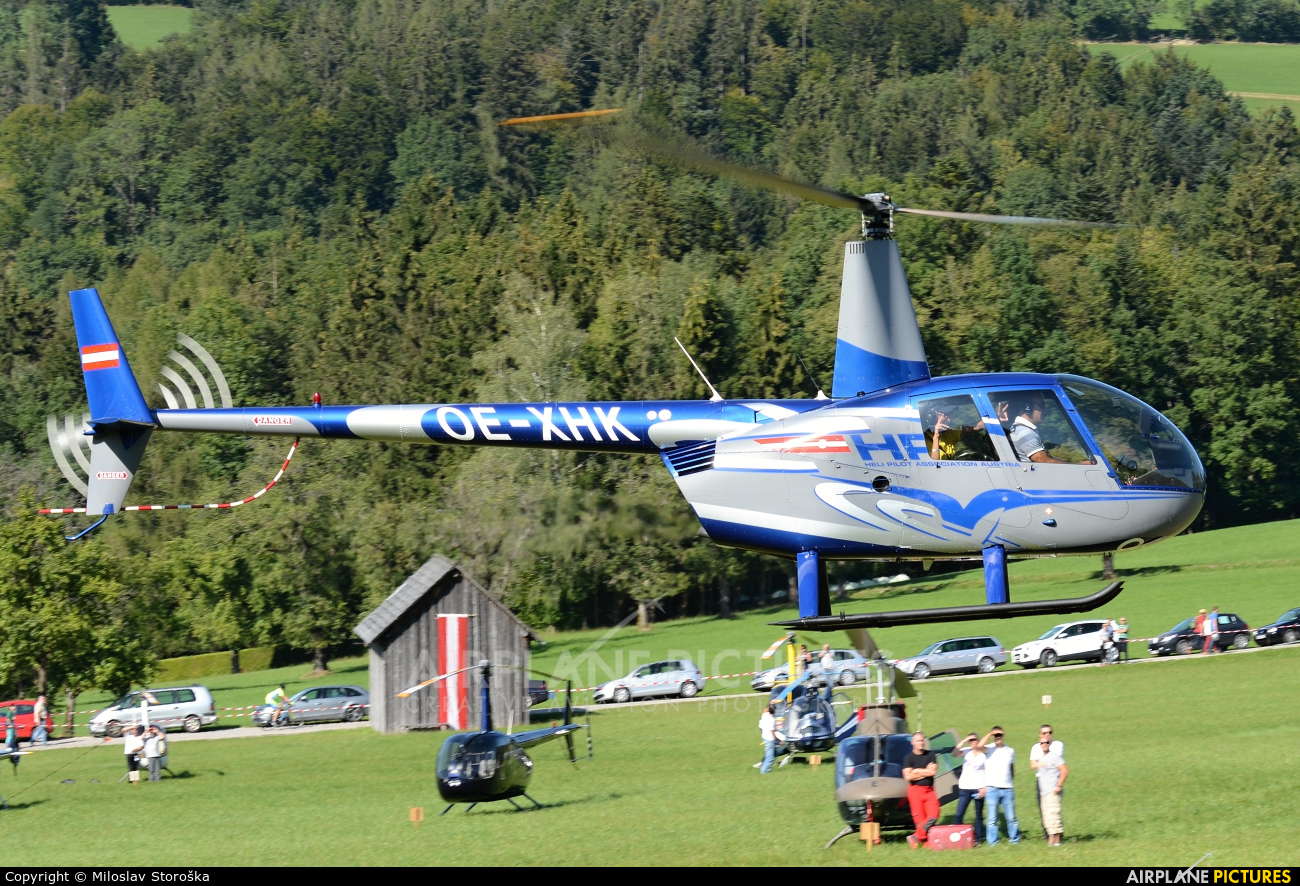 Private OE-XHK aircraft at Off Airport - Austria