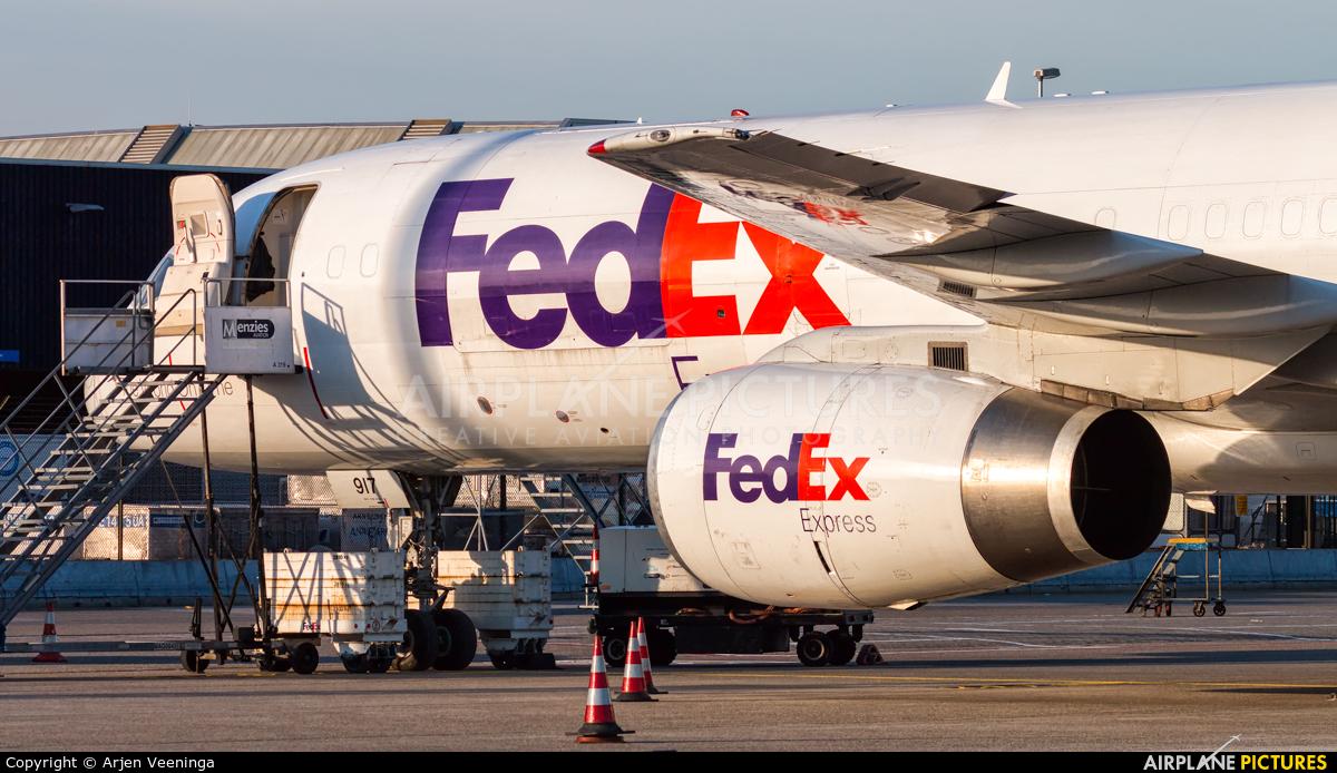 FedEx Federal Express N917FD aircraft at Amsterdam - Schiphol