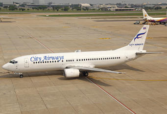 HS-GTE - City Airways Boeing 737-400